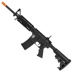 RIFLE DE AIRSOFT ELÉTRICO AEG M4 RIS KOMPETITOR BLOWBACK 6MM - APS CONCEPTION