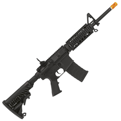 RIFLE DE AIRSOFT ELÉTRICO AEG M4 RIS KOMPETITOR BLOWBACK 6MM - APS CONCEPTION - comprar online