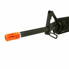 RIFLE DE AIRSOFT ELÉTRICO AEG M4 RIS KOMPETITOR BLOWBACK 6MM - APS CONCEPTION na internet
