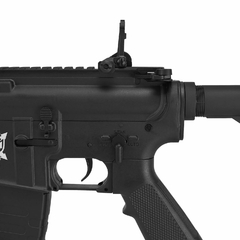 RIFLE DE AIRSOFT ELÉTRICO AEG M4 RIS KOMPETITOR BLOWBACK 6MM - APS CONCEPTION - loja online