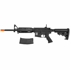 Imagem do RIFLE DE AIRSOFT ELÉTRICO AEG M4 RIS KOMPETITOR BLOWBACK 6MM - APS CONCEPTION