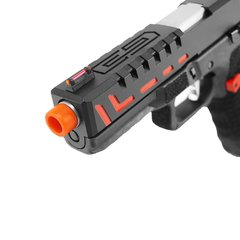 PISTOLA DE AIRSOFT À GÁS GBB CO2 SCORPION D-MOD BLACK BLOWBACK 6MM - APS CONCEPTION - QG Airsoft | A Maior Loja de Airsoft do Brasil | Tudo para Airsoft