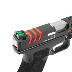 PISTOLA DE AIRSOFT À GÁS GBB CO2 SCORPION D-MOD BLACK BLOWBACK 6MM - APS CONCEPTION - loja online