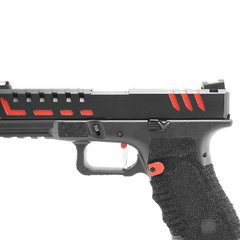Imagem do PISTOLA DE AIRSOFT À GÁS GBB CO2 SCORPION D-MOD BLACK BLOWBACK 6MM - APS CONCEPTION