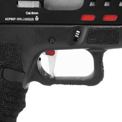 PISTOLA DE AIRSOFT À GÁS GBB CO2 SCORPION D-MOD BLACK BLOWBACK 6MM - APS CONCEPTION