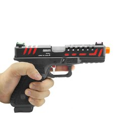 PISTOLA DE AIRSOFT À GÁS GBB CO2 SCORPION D-MOD BLACK BLOWBACK 6MM - APS CONCEPTION - comprar online