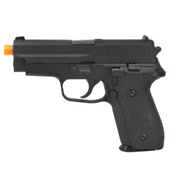 PISTOLA DE AIRSOFT À GÁS GBB GREEN GÁS F228 FULL METAL BLOWBACK 6MM - WE