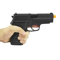 PISTOLA DE AIRSOFT À GÁS GBB GREEN GÁS F228 FULL METAL BLOWBACK 6MM - WE na internet