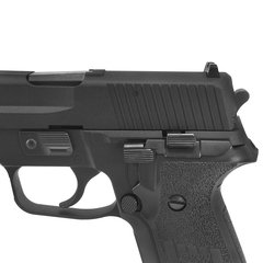 PISTOLA DE AIRSOFT À GÁS GBB GREEN GÁS F228 FULL METAL BLOWBACK 6MM - WE - comprar online