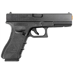 PISTOLA DE AIRSOFT À GÁS GBB GREEN GÁS G17A GEN 3 BLOWBACK 6MM - WE - comprar online