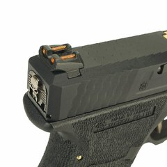 Imagem do PISTOLA DE AIRSOFT À GÁS GBB GREEN GÁS  G17 BLACK WET1 BLOWBACK 6MM - WE