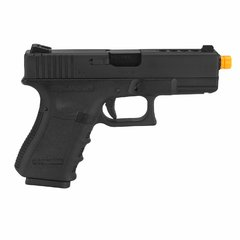 PISTOLA DE AIRSOFT À GÁS GBB GREEN GÁS G23A GEN 3 BLOWBACK 6MM - WE - comprar online
