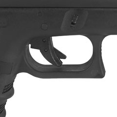 PISTOLA DE AIRSOFT À GÁS GBB GREEN GÁS G23A GEN 3 BLOWBACK 6MM - WE - loja online