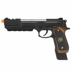 PISTOLA DE AIRSOFT À GÁS GBB GREEN GÁS M92 BIOHAZARD BARRY BURTON FULL METAL BLOWBACK 6MM - WE na internet