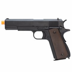 PISTOLA DE AIRSOFT À GÁS GBB GREEN GÁS 1911 A-VERSION GEN 2 FULL METAL BLOWBACK6MM - WE