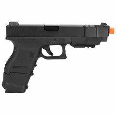 PISTOLA DE AIRSOFT À GÁS GBB GREEN GÁS G33A GEN 3 BLOWBACK 6MM - WE - comprar online