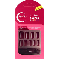 UNHAS COLORS MAÇA DO AMOR 28 UN. U3076 - comprar online