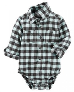 BODY CAMISA XADREZ - CARTER'S /  OSHKOSH