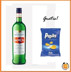 Gancia x 950 ml + Snack de regalo!