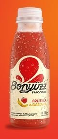 Smoothie Bonyüzz 100% Natural Frutilla y Banana