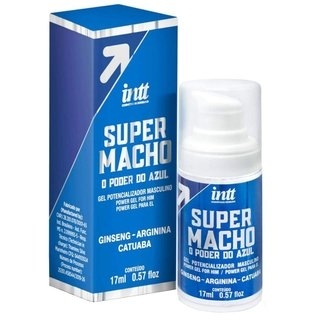 SUPER MACHO O PODER DO AZUL 17 ML INTT