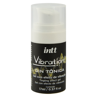 VIBRATION GIN TÔNICA GEL VIBRANTE 17ML INTT