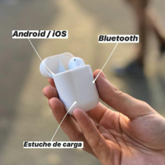 AURICULAR i19 SIMIL AIRPODS 105537 - comprar online