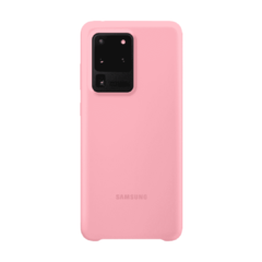 Silicona Cover Samsung S20 Ultra PINK 107164