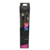 Cable FoxBox Prism LIGHTNING 2mts Negro 105754