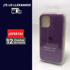 Silicona Case Iphone 11 Pro Violeta 107237