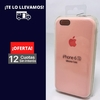 Silicona Case Iphone 6 Rosa Palo 103513