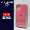 Silicona Case Iphone 11 Rosa Palo 106292