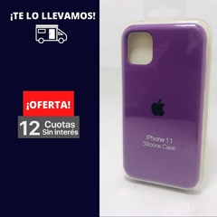 Silicona Case Iphone 11 Violeta 107235