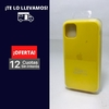 Silicona Case Iphone 11 Amarillo Limon 105554