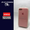 Silicona Case Iphone 7 Rosa Palo 103514