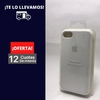 Silicona Case iPhone 7 Blanco 101889