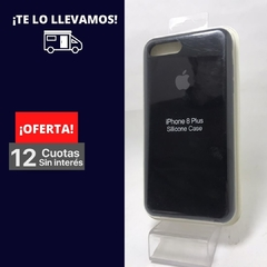Silicona Case iPhone 7 Plus Negro 101870