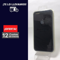 Silicona Case iPhone 6 Plus Negro 101898