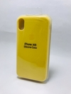 Silicona Case Iphone Xr Amarillo Limon 104603