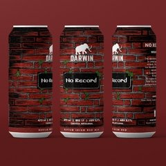 """No Record"" Irish Red Ale - Lata 473ml"