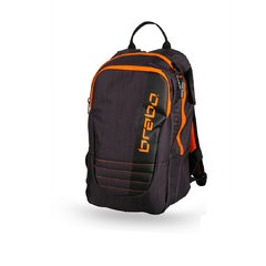 Mochila Brabo Tradicional Black/Orange
