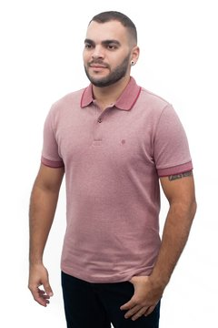 Polo piquet maquinetada  slim highstil