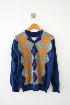 SWEATER A ROMBOS