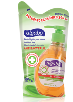 Jab¢n l¡quido antibacterial neutro Doy pack 300ml