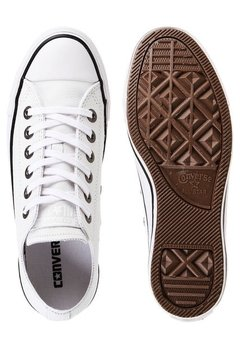 All Star Chuck Taylor Leather Ox White/Black
