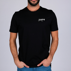 Remera Billabong Back Circle Negro
