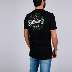 Remera Billabong Back Circle Negro - comprar online