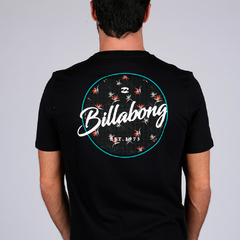 Remera Billabong Back Circle Negro en internet