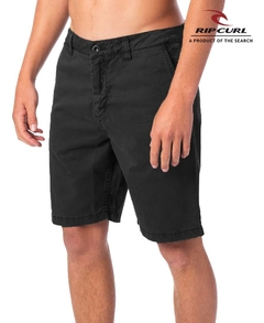 "Bermuda Rip Curl Chino Slim Twisted 19"" Charcoal"