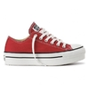 Chuck Taylor Lift Ox Red (Plataforma)
